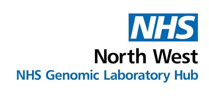 NHS North West Genomic Laboratory Hub logo